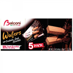Bolacha Wafer de Chocolate Preto 5saq