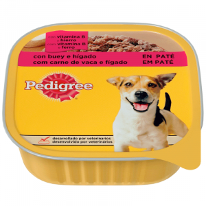 Dog wet-food Beef and Liver in Pate